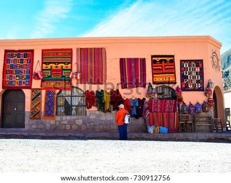 Tilcara, Salta, Argentina Stock fotó ©