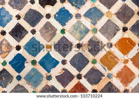 tile decoration  alhambra...