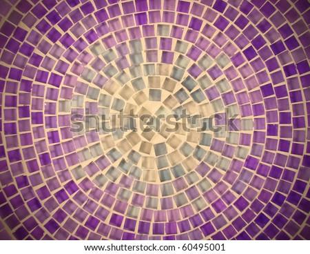 tile mosaic design background pattern