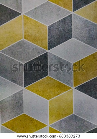 Tile surface , Tile pattern #683389273