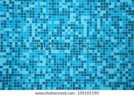 Tile Texture Background Of Swimming Pool Tiles Stock Photo ...