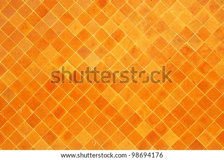 Tile wall background texture