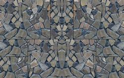 Tileable Design Wall Decoration. Illustration Of tile background