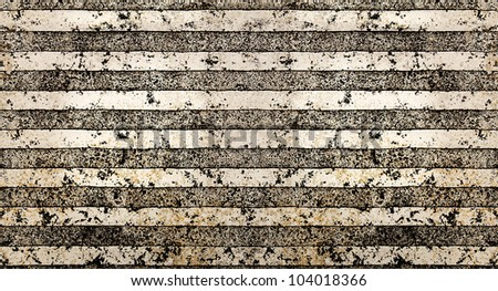 Tiled grunge striped background - stock photo