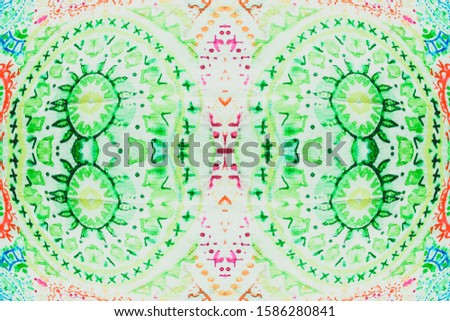 Tiles Frame. Fluorescent Morocco. Fluorescent Persian Tiling. Azulejos Patterns. Ethnic Brush. Patterns Decorative. Colorful Ethnic Maya. Colorful Wall.