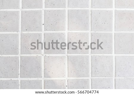 Tiles in a bathroom, tiles texture, tiles background with soft sunlight #566704774