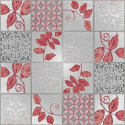 tiles mosaic RED