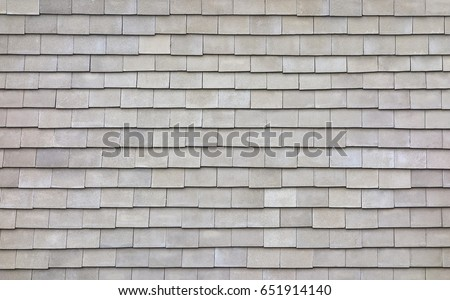 Tiles Roof from top view, Texture Background