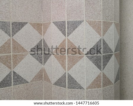Tiles. Texture of ceramic tiles,wall tiles texture for the decoration. a corner of oom show the ceramic and tiles for pattern background. #1447716605