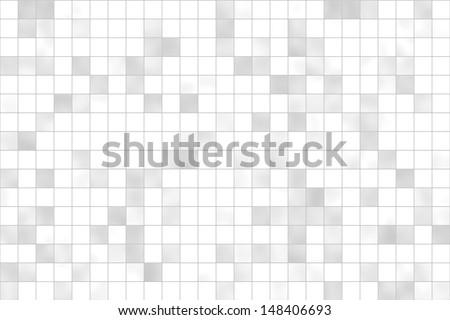 Tiles white - grey