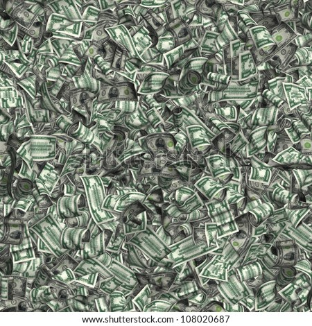 Tiling Image of $10,000 Notes