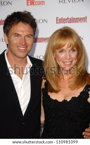 tim daly and amy van nostrand at entertainment weeklys