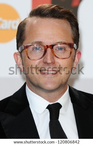 Tim Rhys-Evans arriving for the Classic Brit Awards 2012 at the Royal Albert Hall, London. 02/10/2012 Picture by: Steve Vas