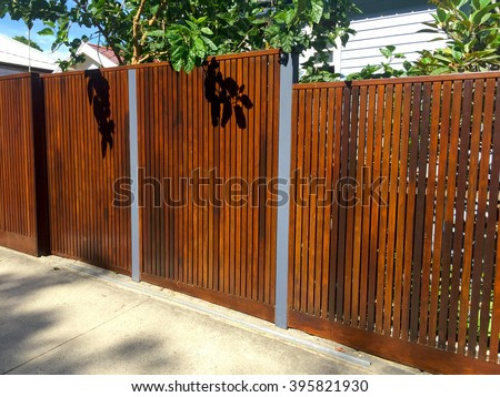 Timber Fence - Hard Landscaping