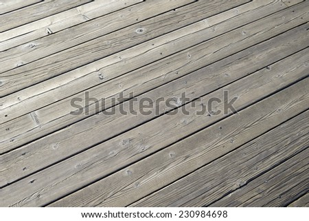 timber floor - Old timber wood