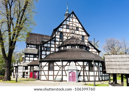 timbered church of Swidnica, Silesia, Poland
