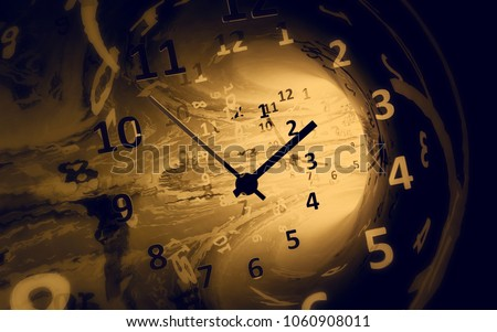 Time. 3d illustration