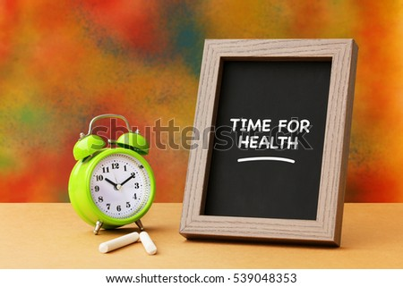 Time For Health, Health Concept #539048353