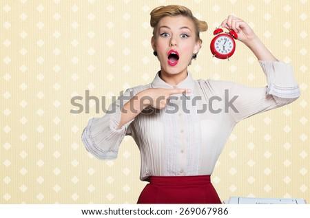 Time, girl, women.