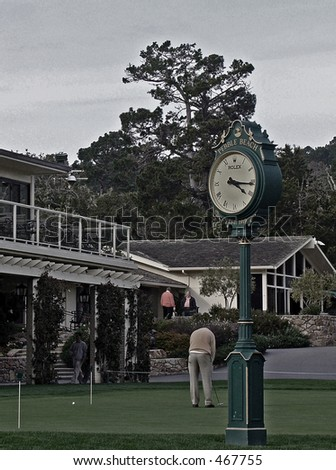 Time is Money Pebble Beach, CA