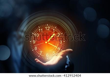 Time management concept #412952404