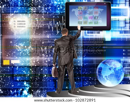 Time of innovative computer Internet technologies and safety program