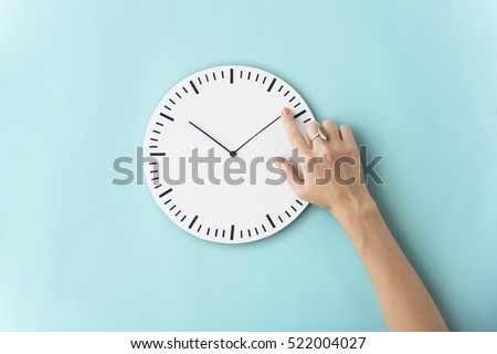 Time Punctual Second Minute Hour Concept #522004027