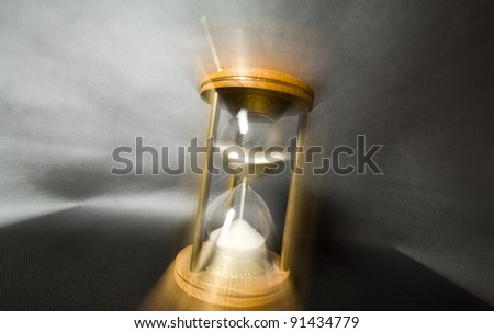 Time running effect