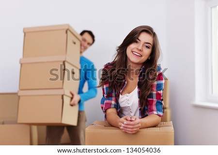Time to moving in new home