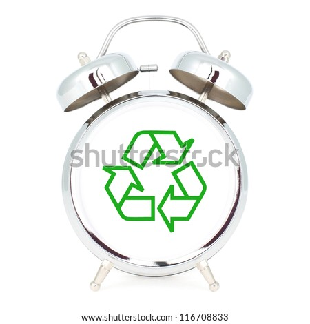 time to recycle - stock photo