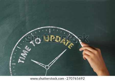 Time to Update Concept on Blackboard