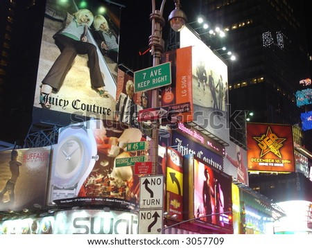 Times Square in Manhattan (New York City)