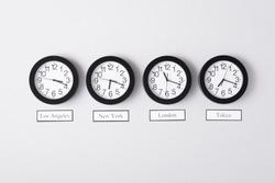 Timezone clocks