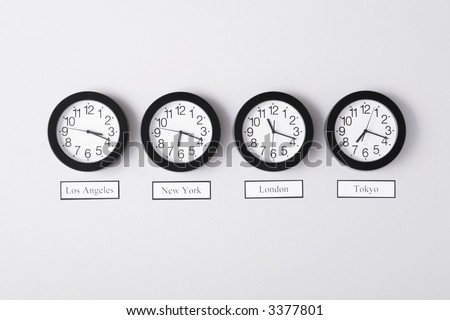 Timezone clocks