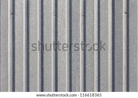 tin fence. background - stock photo