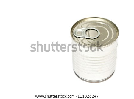 Tins canning, with a shelf life