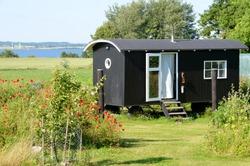 tiny house garden nature mobile home