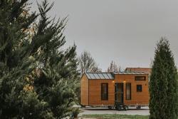 Tiny Houses are all about flexibility and freedom. For some is the freedom to a well-balanced life. Less is more.