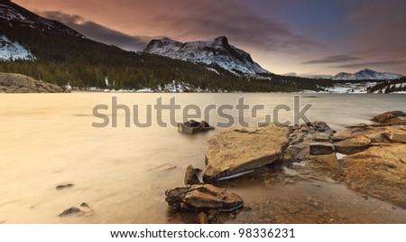 Tioga Pass, Yosemite National Park - stock photo
