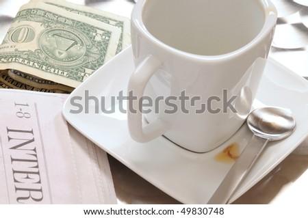 Tip. - stock photo
