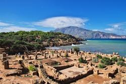 Tipaza Roman ruins in Algeria, Africa