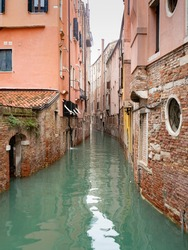 Tipical alley or lane in Venice