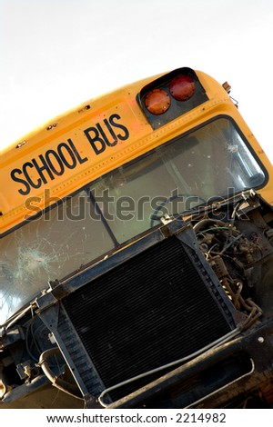 Tipped School Bus