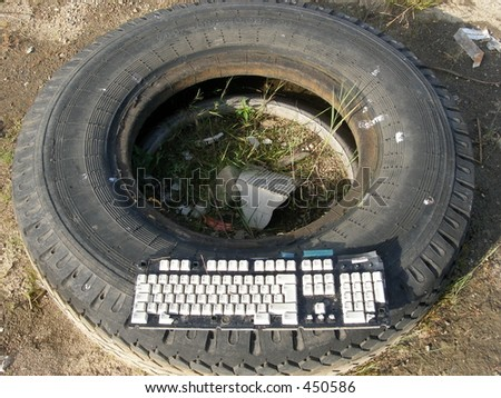 Tire and keyboard