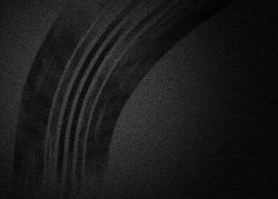 Tire marks on asphalt . Copy space texture background.