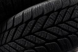 Tire pattern closeup