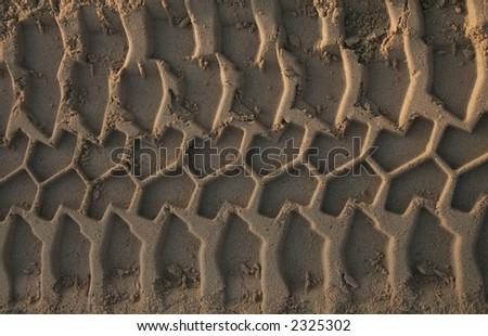 Tire Tread in Dirt