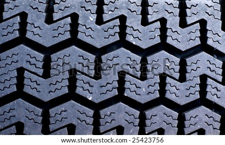 Tire Tread Background