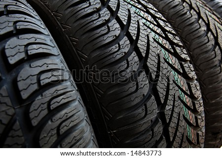 tire, tyre - stock photo