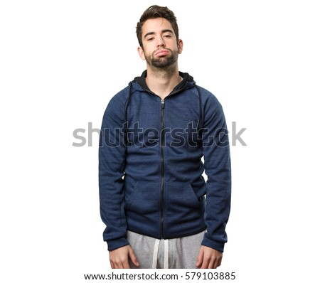 tired young man Stock photo ©